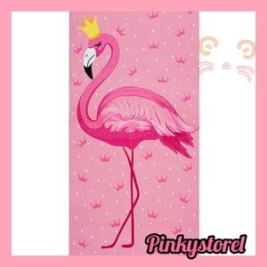 Other - Flamingo Beach Towel 🌷